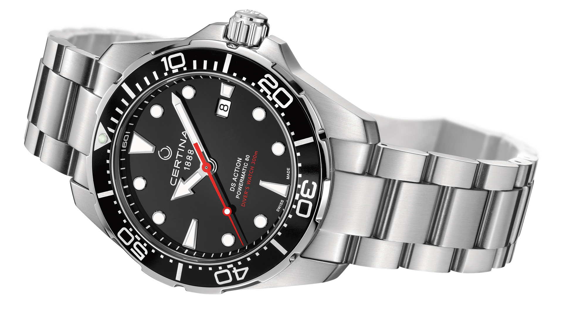 Certina DS Action Diver Automatic side