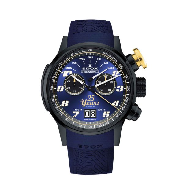 Edox Chronorally Sauber F1 Team 25th Anniversary 38001-TINN2-BUB25