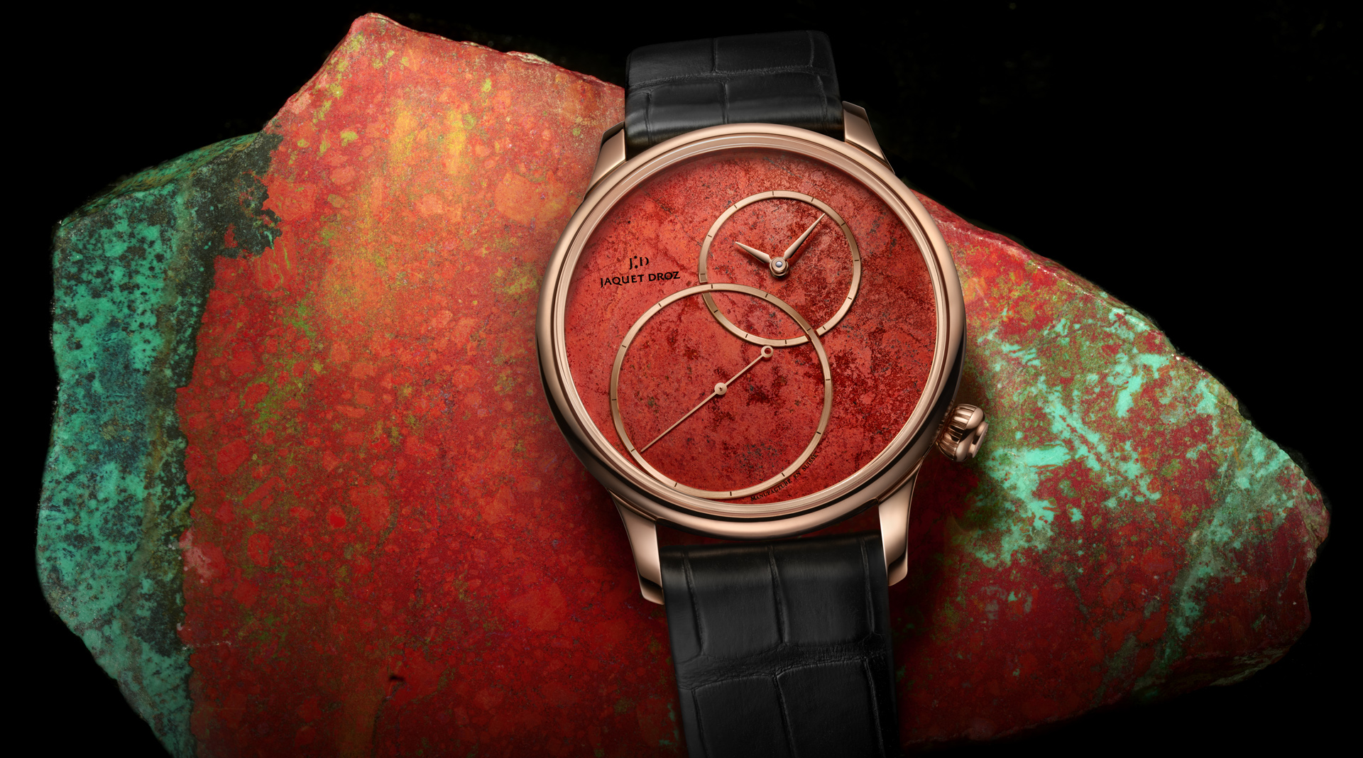 Jaquet Droz Grande Seconde Off-Centered Cuprite for Only Watch J006033270 mineral