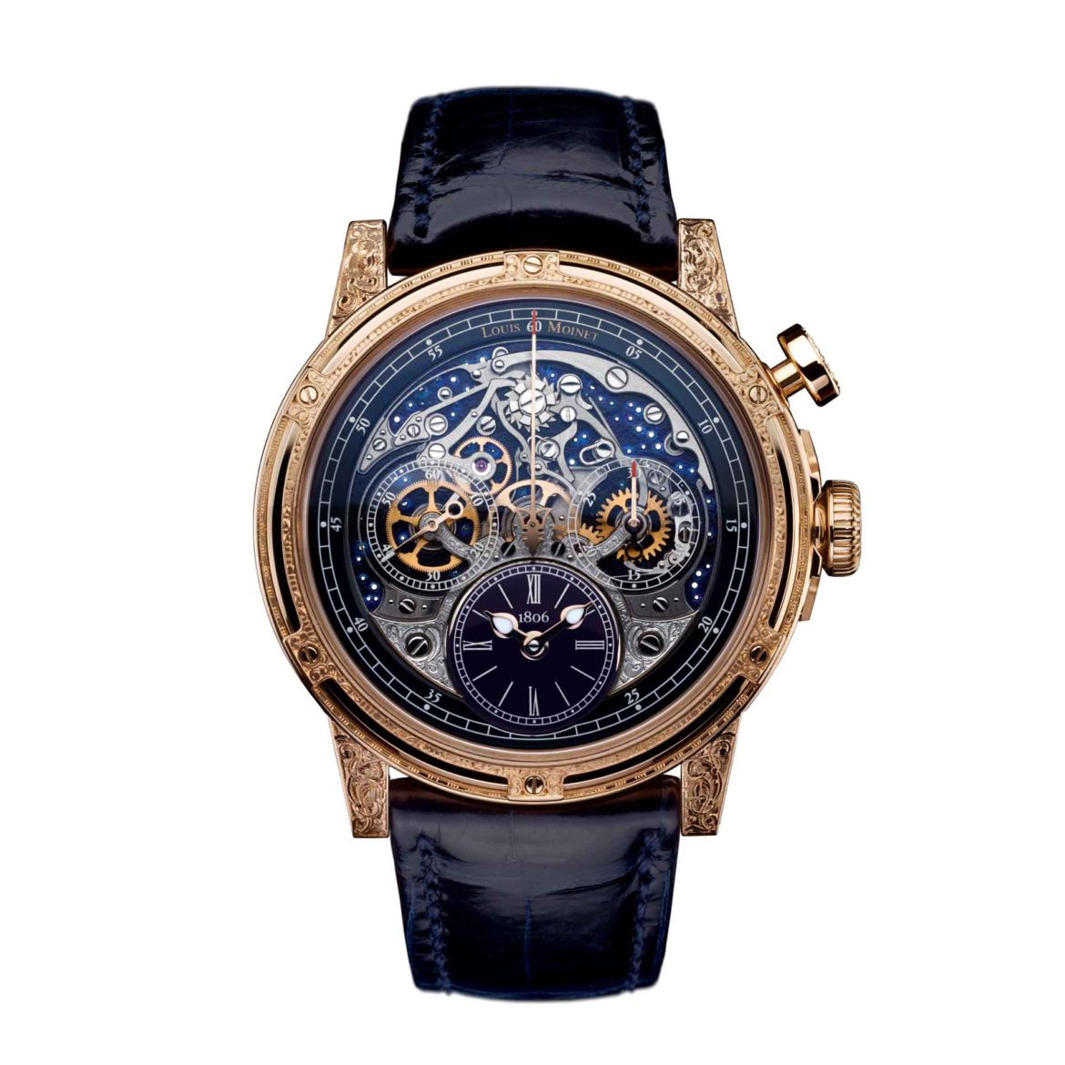 Louis Moinet Memoris Red Eclipse LM-54.51.21