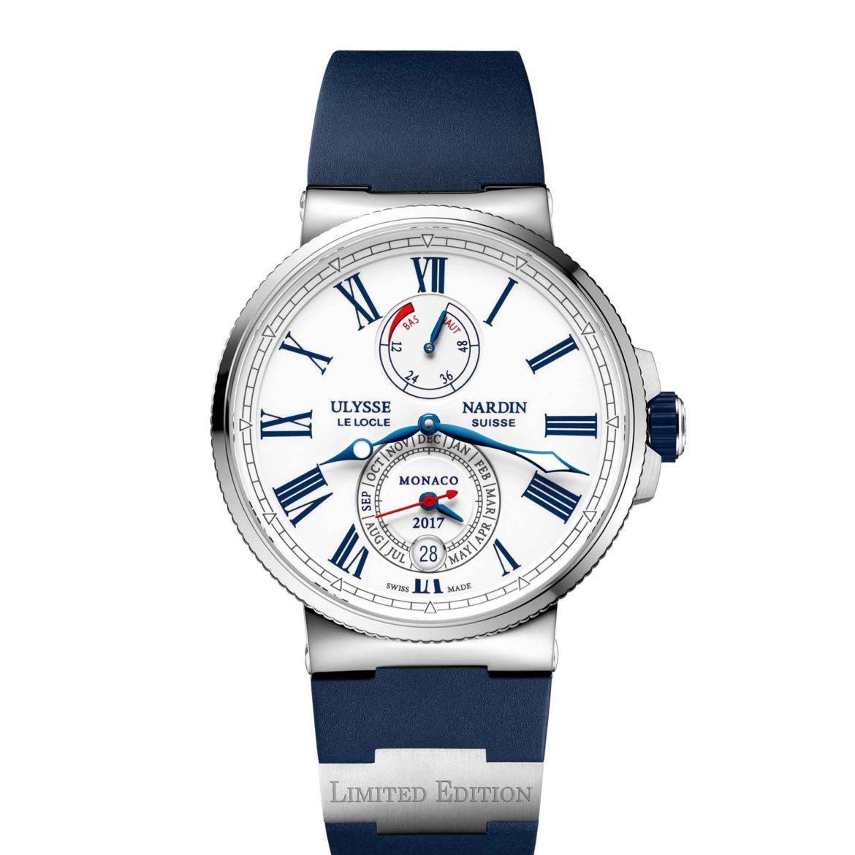 Ulysse Nardin Marine Chronometer Annual Calendar Monaco 1133-210LE-3/40-MON