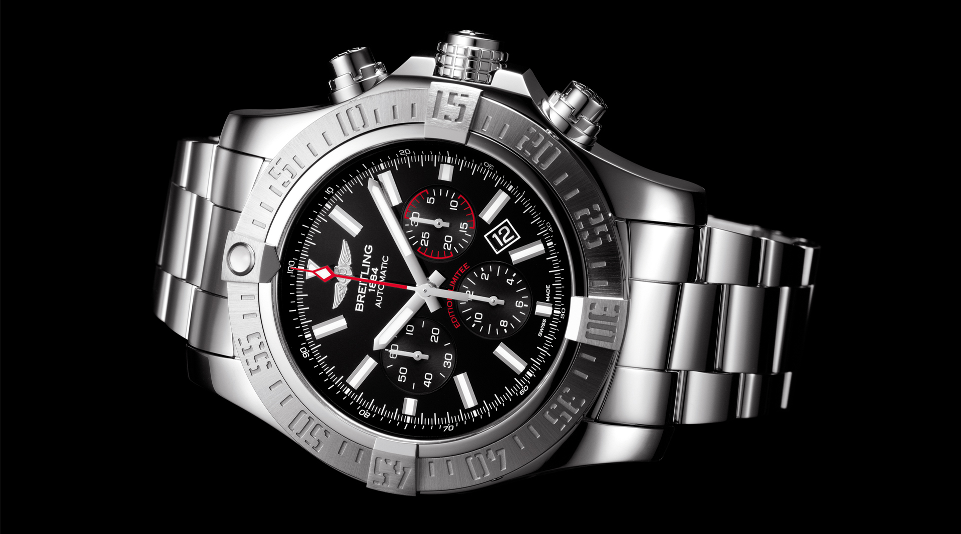 Breitling Super Avenger 01 Boutique Edition AB01901A-BF88-168A side