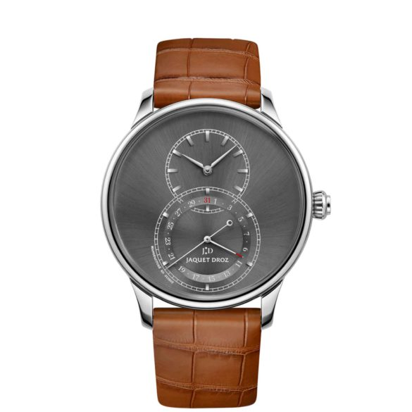 Jaquet Droz Grande Seconde Quantième Satin-Brushed