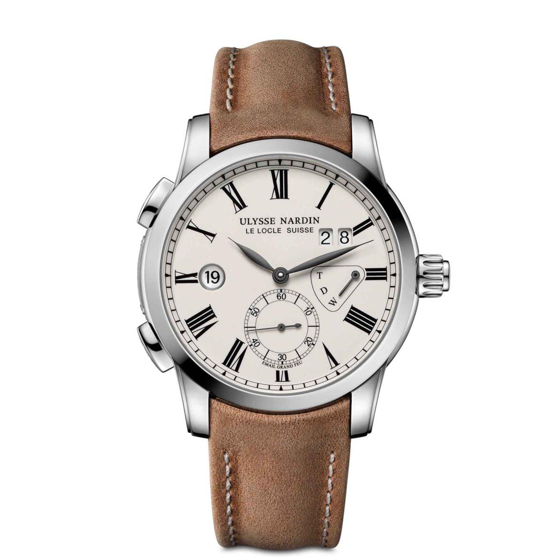 Ulysse Nardin Classic Dual Time Enamel Boutique Edition 3243-132/E1-BQ