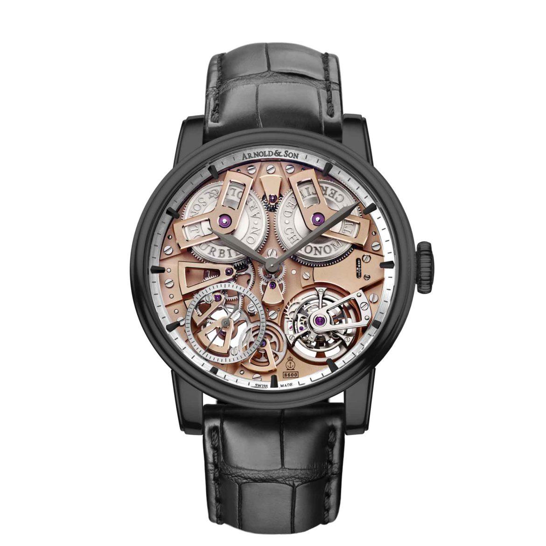 Arnold & Son Tourbillon Chronometer No. 36 Gunmetal 1ETAS.B01A.T113S