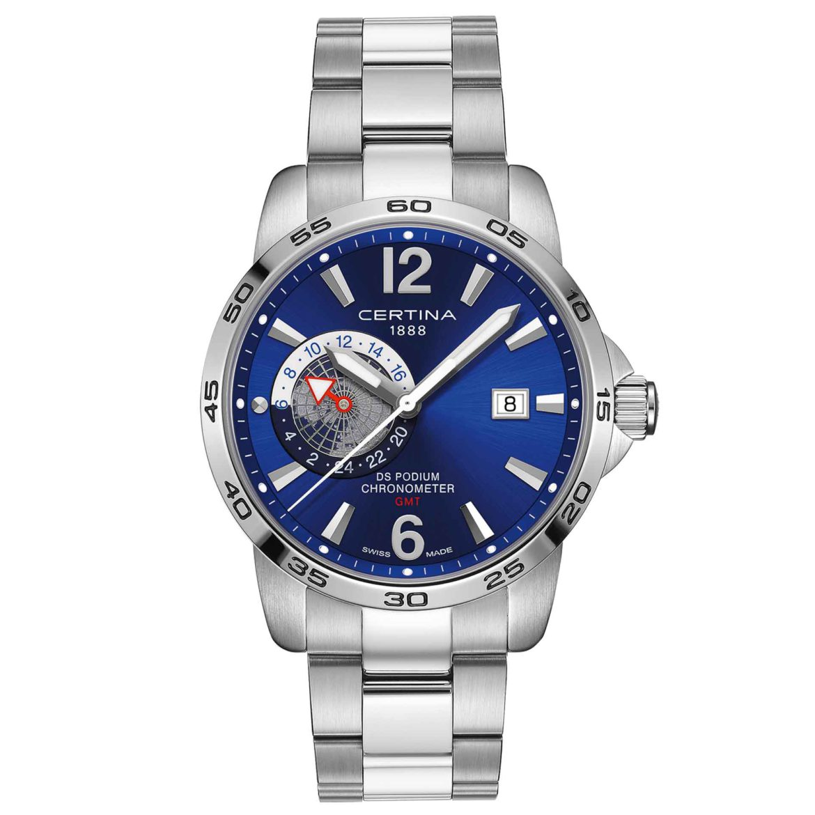 Certina DS Podium GMT Chronometer