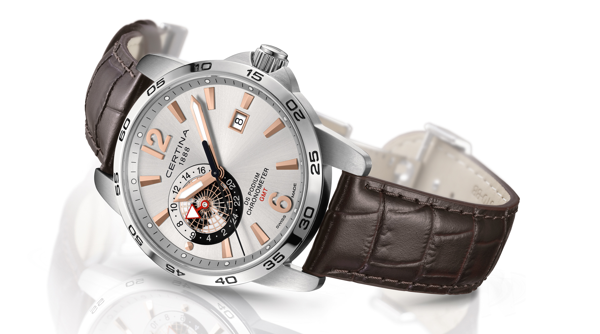 Certina DS Podium GMT Chronometer side