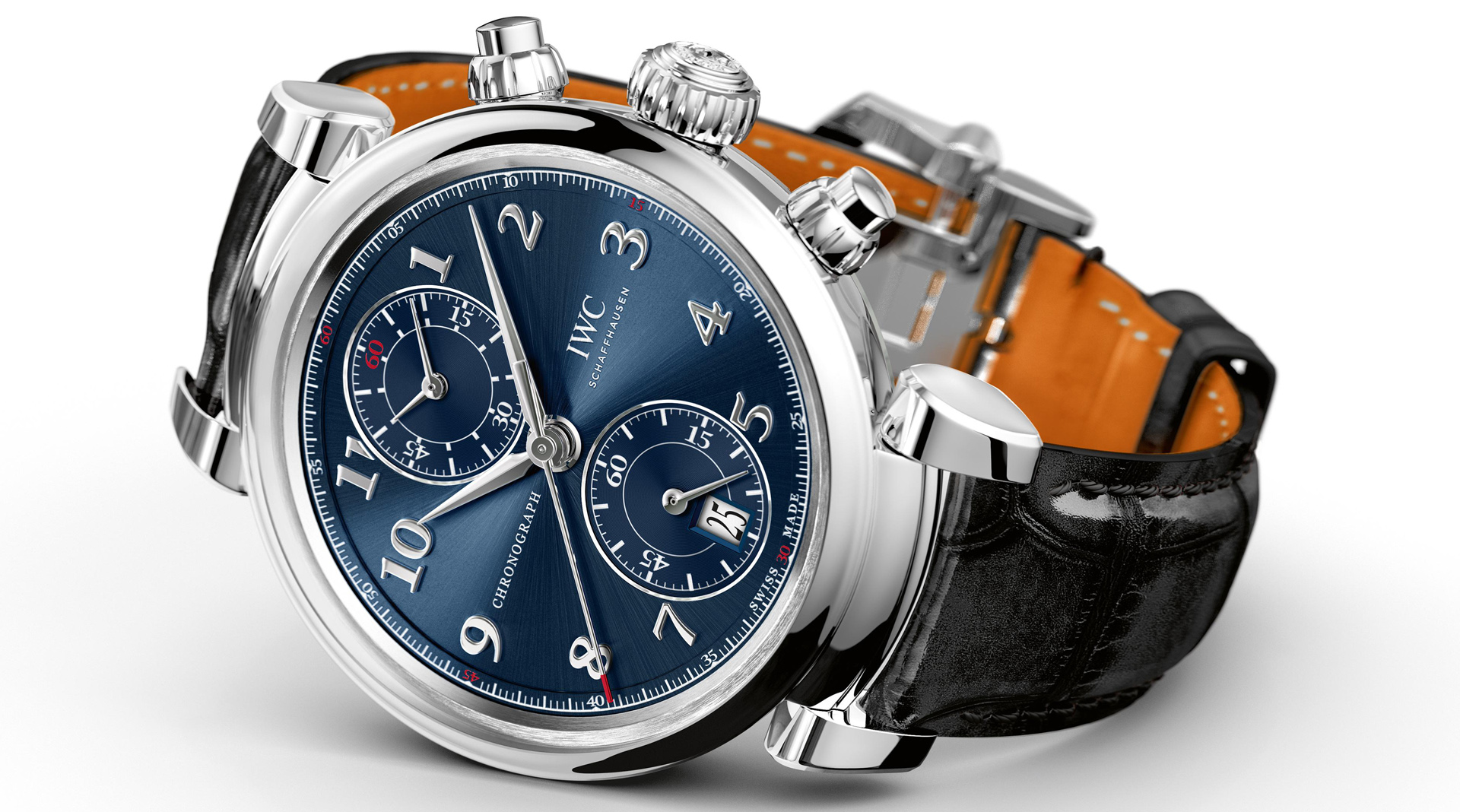 IWC Da Vinci Chronograph Edition Laureus Sport for Good Foundation IW393402 side