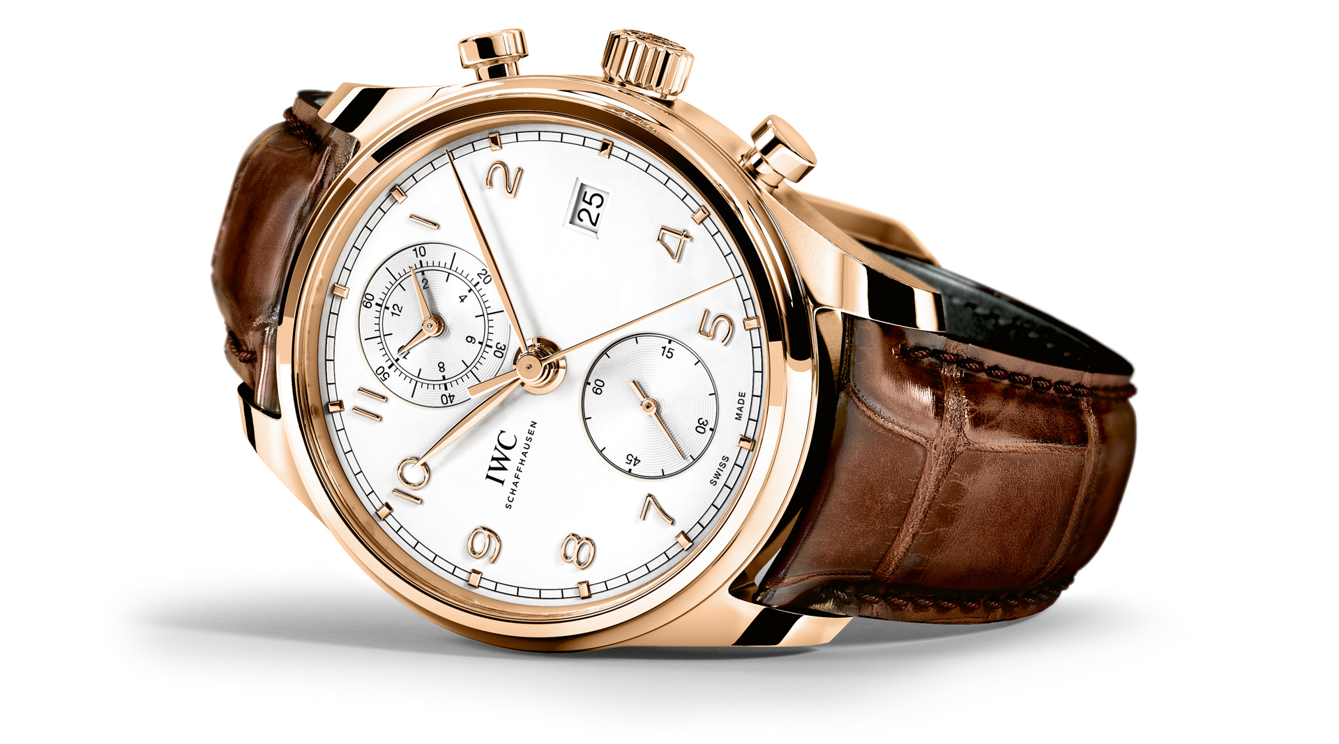 IWC Portugieser Chronograph Classic 2017 side