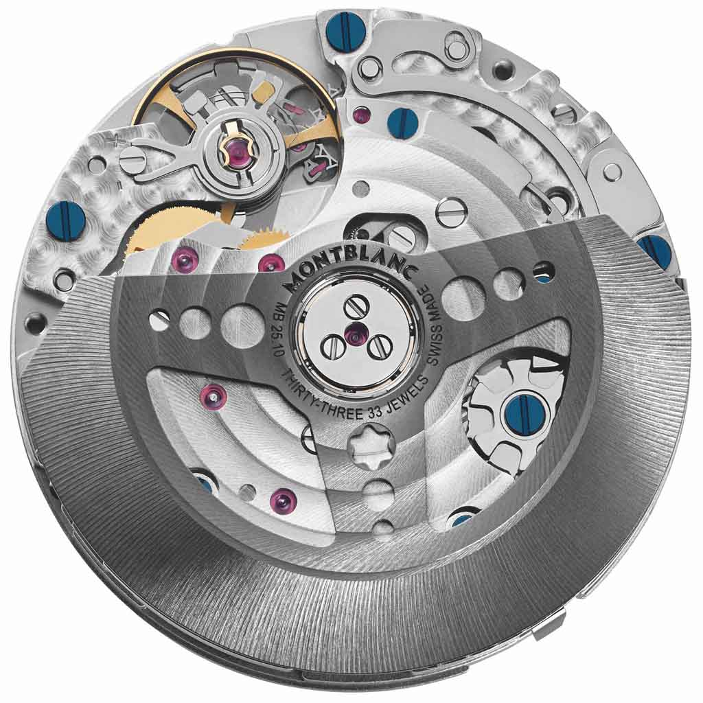 Montblanc Caliber MB 25.10 movement