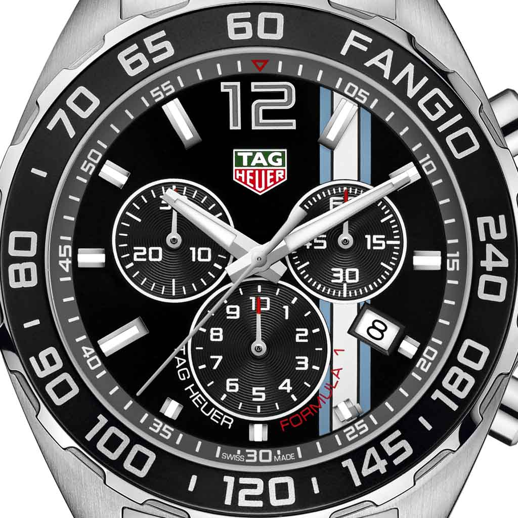 Tag Heuer Formula 1 Chronograph >> TAG Heuer Formula 1 Fangio Limited Edition - Your Watch Hub